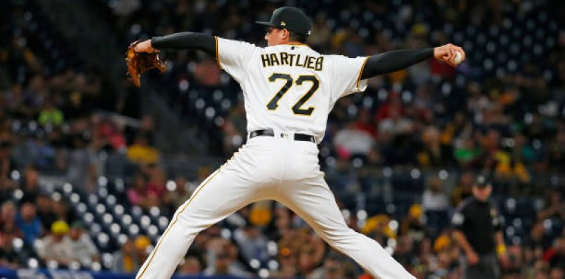 Pirates' Geoff Hartlieb Reflects on Found Success in 2020, Looks Forward to 2021