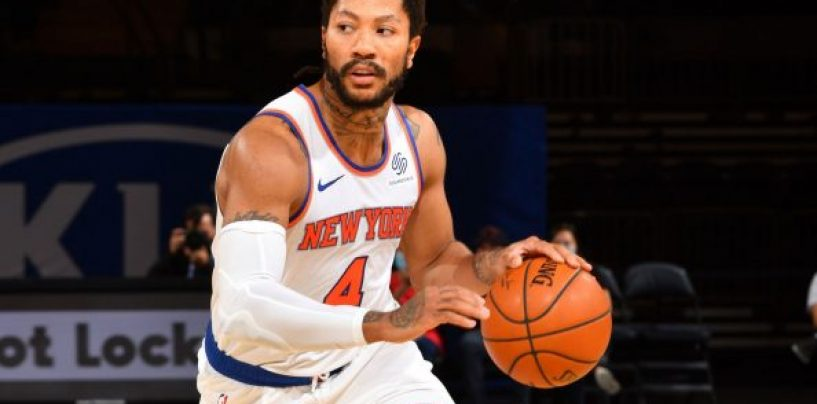Derrick Rose Proving He is the Knicks Starting Point Guard