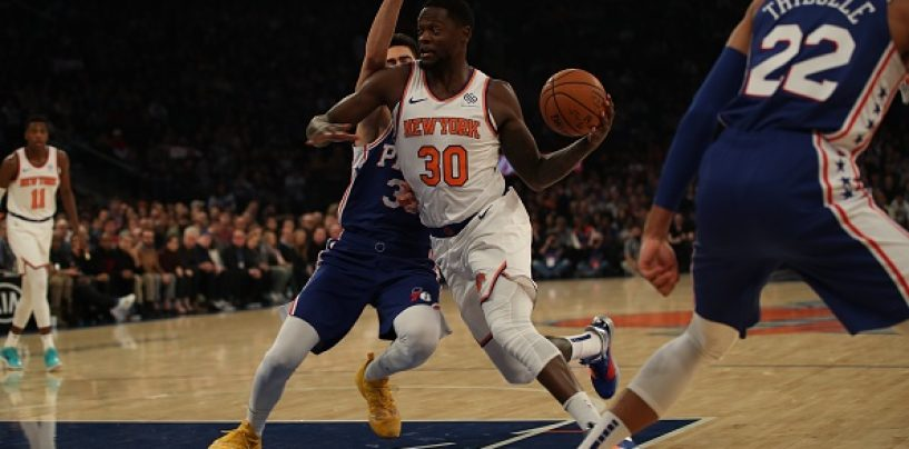 The Knicks Should be Encouraged Despite Julius Randle's Game 1 Performance