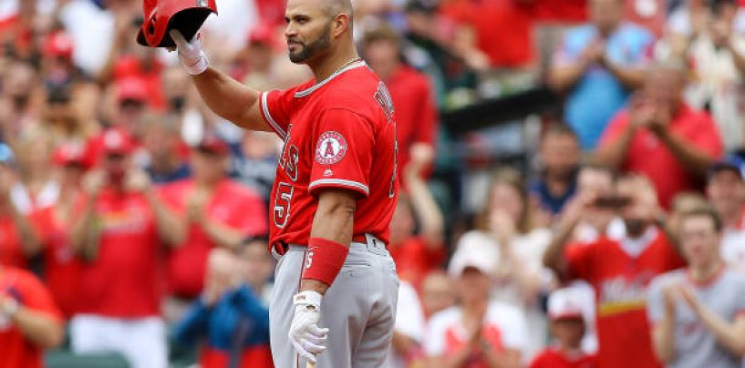 Angels DFA Future Hall of Famer Albert Pujols