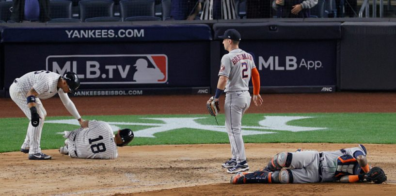 Sunday Shenanigans 6: One play, Two Injuries, Three Runs and the Craziest Series of the Year