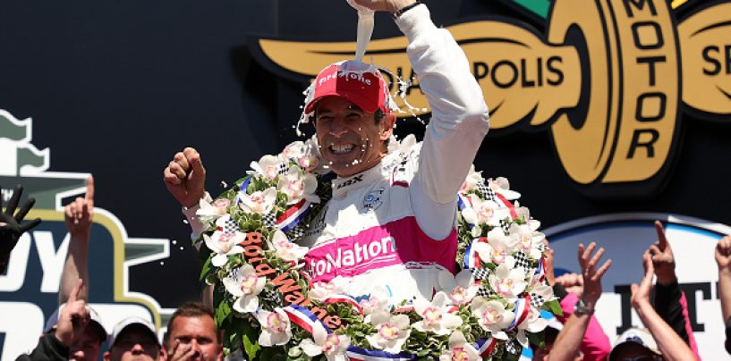 Spiderman Returns: Castroneves Wins 2021 Indianapolis 500