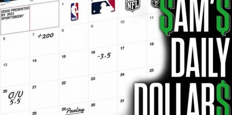 The Daily Dollar: Hot Dog! NBA, MLS, MLB Bets for 7/3, 8:30pm