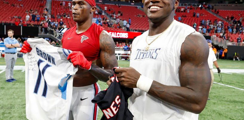 Tennessee Titans Thursday Throwback: A.J. Brown's Breakout Game