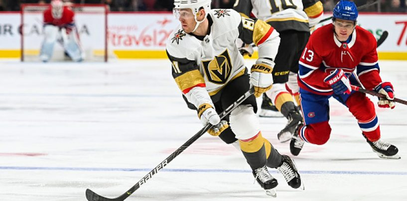 NHL Playoff Preview: Montreal Canadiens vs. Vegas Golden Knights