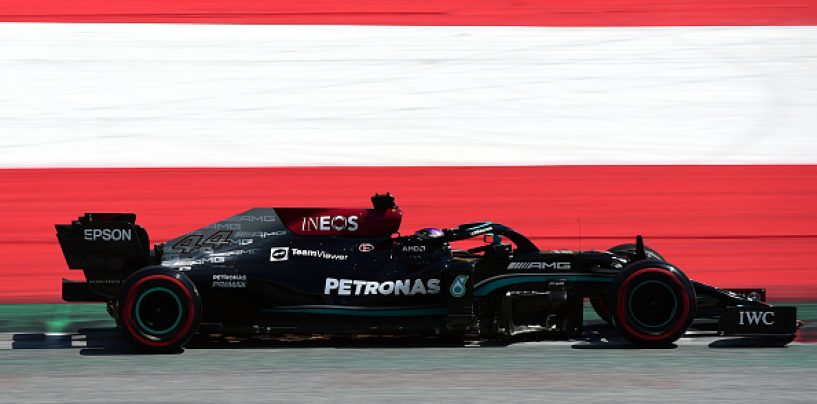Lewis Hamilton Signs Two-Year Contract Extension with Mercedes-AMG F1 Team