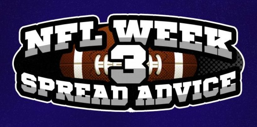 NFL Week 3 Betting Advice: Spreads to Bet, Avoid