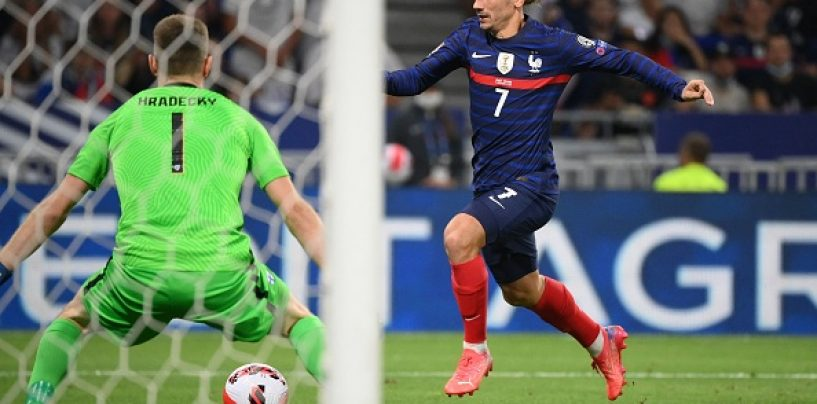 Antoine Griezmann Is Now France's Joint-Third All-Time Leading Scorer