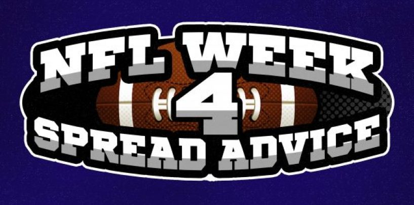 NFL Week 4 Betting Advice: Spreads to Bet, Avoid